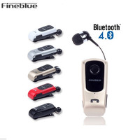 FineBlue F920 Mini Wireless Auriculares Driver Bluetooth Headset Calls Remind Vibration Wear Clip Sports Running Earphone