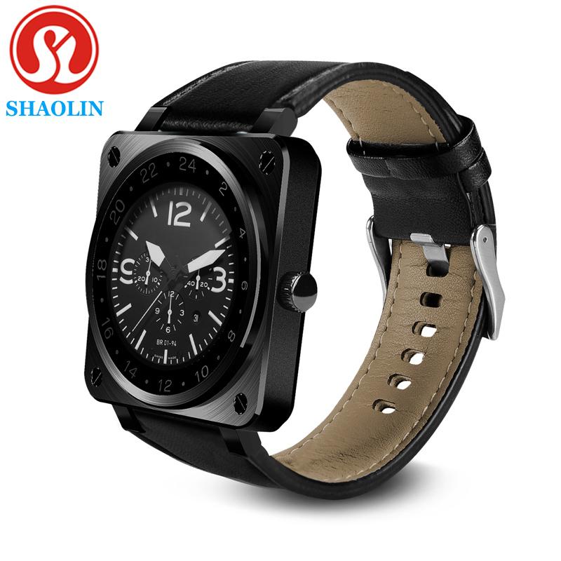 Prix pour SHAOLIN Smartwatch Bluetooth Smart watch pour Apple iPhone IOS Android Téléphone relogio reloj inteligente Smartphone Montre PK GT08