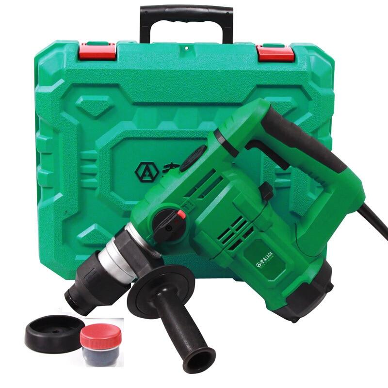 Trapano elettrico multifunzionale LAOA 32mm martello demolitore - Utensili elettrici - Fotografia 4