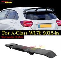 Carbon Fiber Painted Sports Car Suitable For Mercedes Benz W176 Roof Spoiler A Class A180 A200