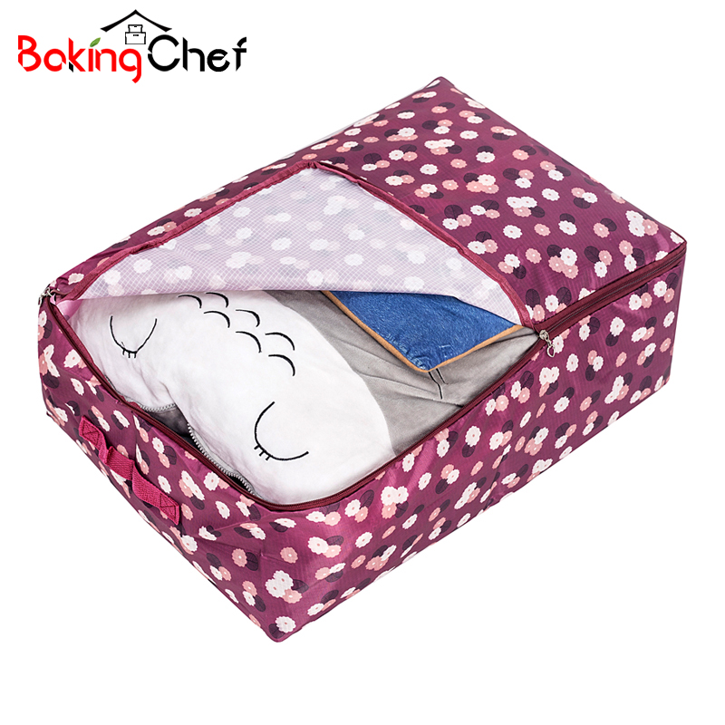 BAKINGCHEF Home Comforter Storage Bags Dust Covers Clothing Bedding Toys Wardrobe Organization Collation Accessories Supplies