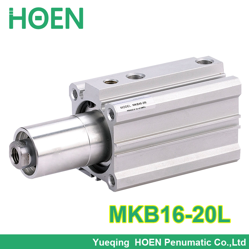 MKB16-20L high quality MKB Series  SMC Type Rotary Clamp Air Pneumatic Cylinder MKB16-20 /MKB16*20 for free post quality eco friendly smc series air combination units smc ac4010 type 15 years only do the welding machine helmet