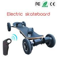 Электрический горный доска Off Road скейтборд 36 В литиевых Батарея 2 слоя бамбука и 8 слоев клены 11000 мАч