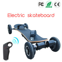 Electric Mountain Board Off Road Skateboard 36V Lithium Battery 2 Layers Bamboo And 8 Layers Maples 11000mAh
