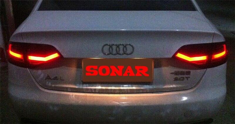 VLAND fabricant pour feu arrière de voiture pour Audi A4 LED feu arrière 2009 2012 pour Audi A4 feu arrière avec DRL + inverse + frein
