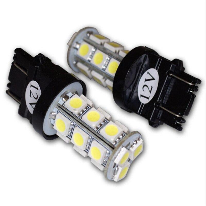 2pcs/set New Car Tuning Pros LEDPL-3157-18 Parking Light LED Light Bulbs 3157 18 SMD LED White Parking Lamps