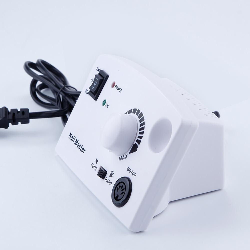 30000 tr/min électrique Nail Art perceuse Machine fraises 300 pièces ensemble de ponçage ongles forets ongles lime appareil pour manucure - 5