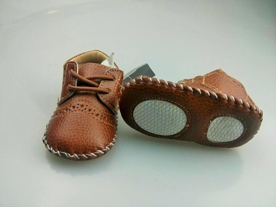 Cute-Baby-Boys-Girls-First-Walker-Faux-Leather-Soft-Sole-Toddler-Shoe-0-12M-4