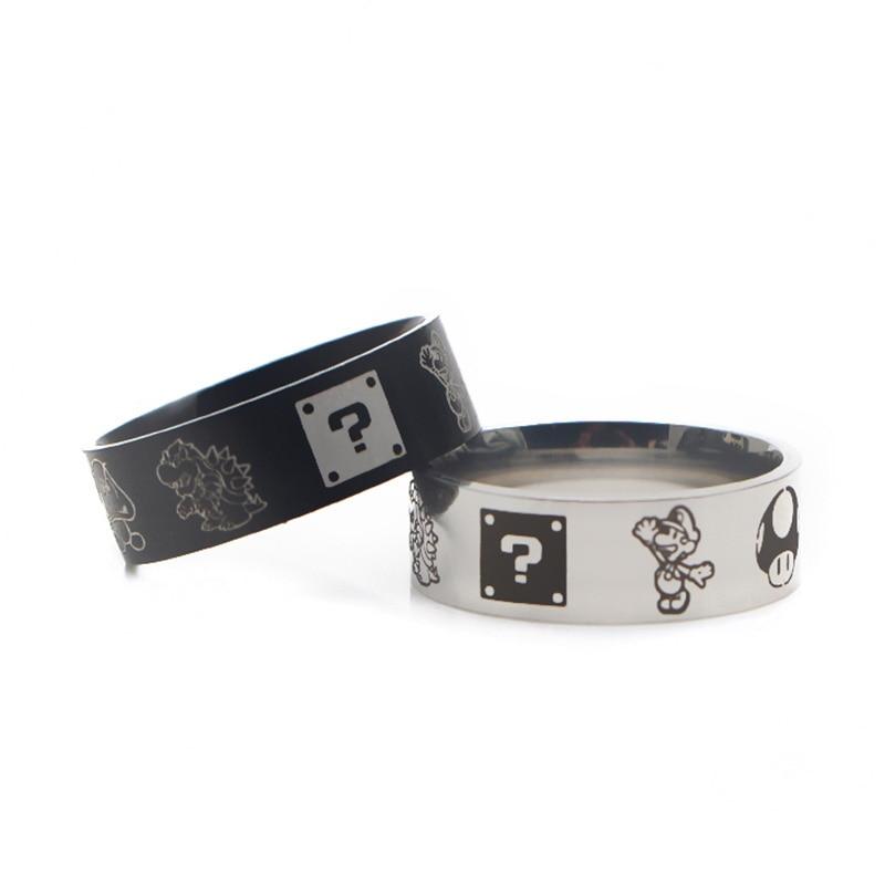 V300 игры кольцо, нержавеющая сталь, кольца для женщин и мужчин, вечерние Обручальные кольца модные черные кольца ювелирные изделия