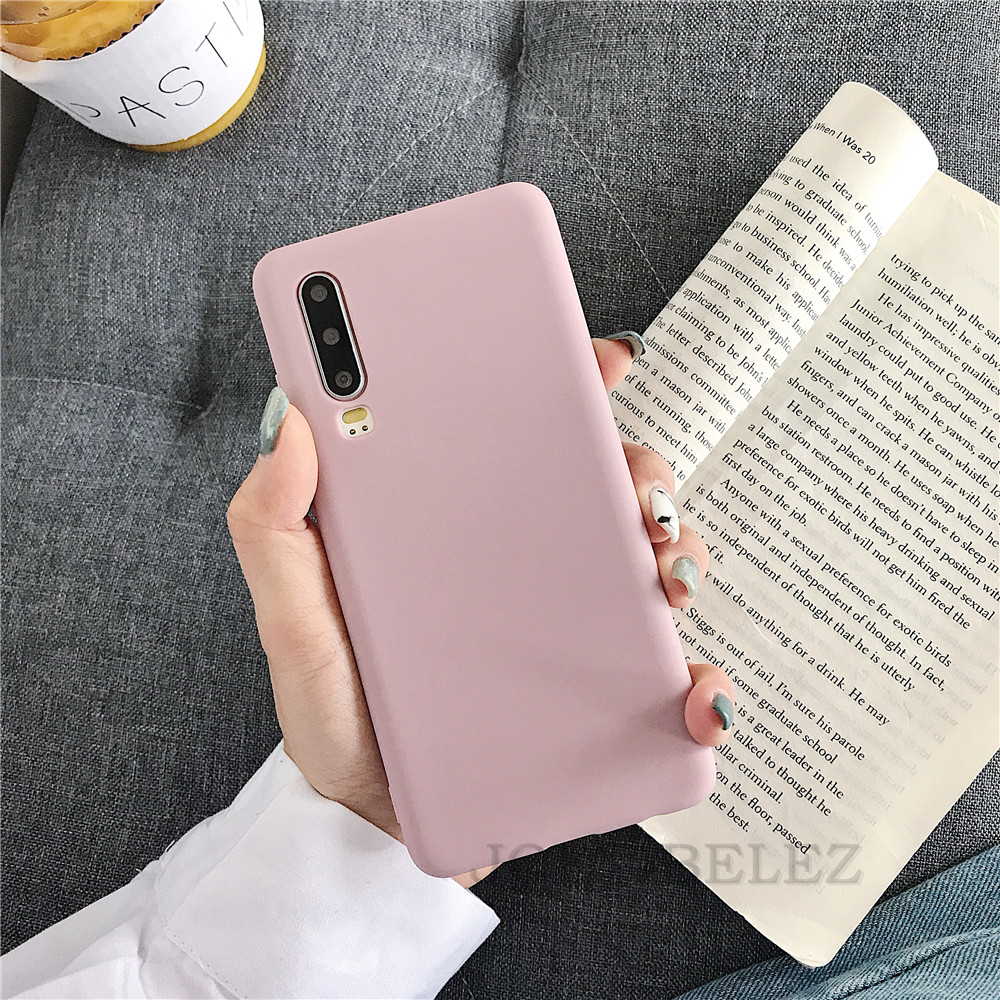 Candy Color Phone Case Cover For Huawei Mate 20 P30 pro Mate 10 20 P10 P20 Pro Nova 3 2s Honor 9 10 8X Y7 Soft Back Case fundas 01