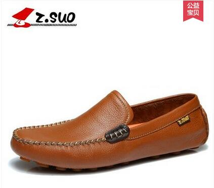 Zsuo men s breathable Moccasins male foot wrapping fashion shoes male fashion low casual shoes ZS0318