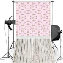 MEHOFOTO Pink Floral New Fabric Flannel Photography Background For Children Floor Vinyl Backdrop For Wedding photo studio F1205 цена