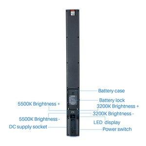 Image 3 - YONGNUO YN360S 5500K Ручная Светодиодная лампа Ice Stick для макияжа и фото и видеосъемки с зарядным устройством и управлением через приложение для телефона