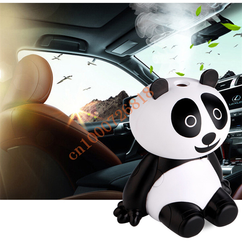 Mini Cute Panda Shape USB Portable Air Humidifiers Touch Aroma Diffuser DC5V Mist Maker Fogger  Ultrasonic Desk Humidifier