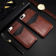 KISSCASE PU Leather Retro Case For iPhone 7 6 6s 8 Plus X XS Max XR Vertical Flip Phone Cases Card Holder Cover