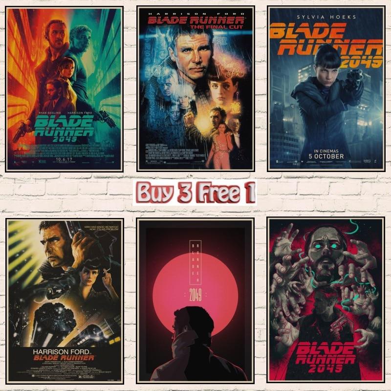 Blade Runner 2049 Movie Silk Poster Print 12x18 32x48 inch Home Wall Decor