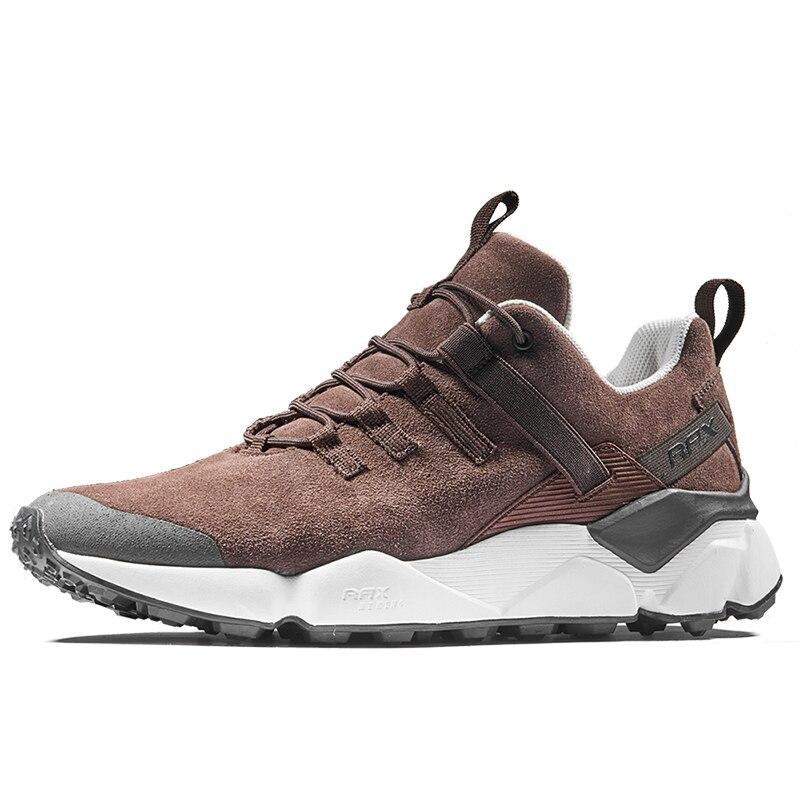 Rax 2018 Hiver de Course les Plus Récents Chaussures Hommes En Plein Air Antidérapant Courant des Espadrilles pour Hommes Chaud Respirant Formateur Dentelle-up Mâle chaussures