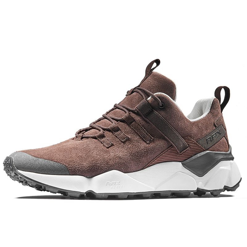 Rax 2018 Winter Newest Running Shoes Men Outdoor Antislip Running Sneakers for Men Warm Breathable Trainer Lace-up Male Shoes