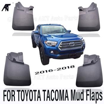 Lembi Di Fango Auto Per Toyota Tacoma 2016 2017 2018 Paraspruzzi Paraspruzzi Mud Flap Parafanghi Parafango Auto Styling Set Modellato