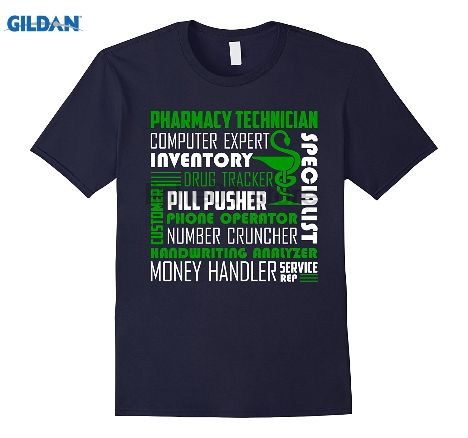 GILDAN Pharmacy Technician Shirts - Pharmacy Technician Tshirt Dress female T-shirt ...
