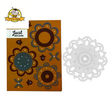 New Dies For 2019 Circle Flower Die Metal Cutting Scrapbooking Cut Craft Arrivals