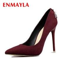 Airfour Shoes Woman 5 Colors Plus Size 34 46 2016 Fashion High Heels Women Pumps Classic