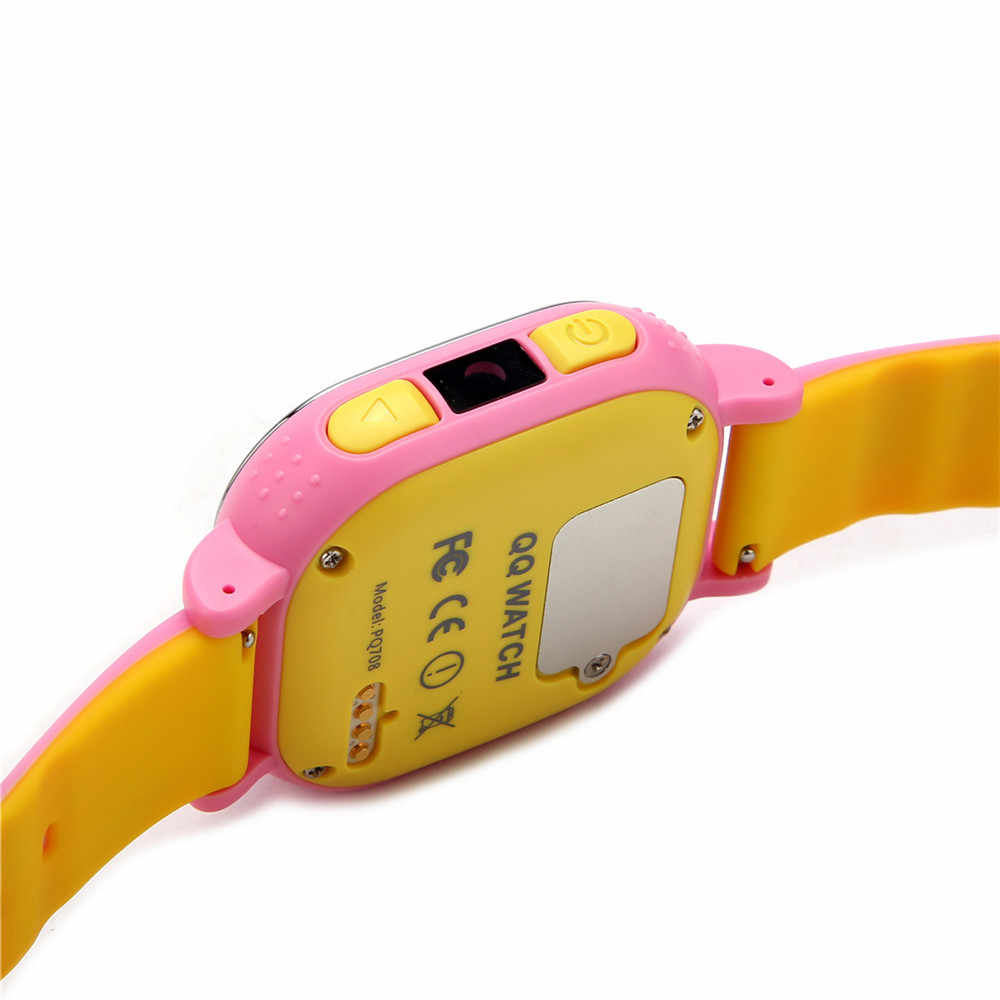 Tencent QQ Kid Smart Watch Children Smartwatch WiFi LBS GPS Tracker Baby  Anti Lost Locator With SOS Call Touch Screen Waterproof