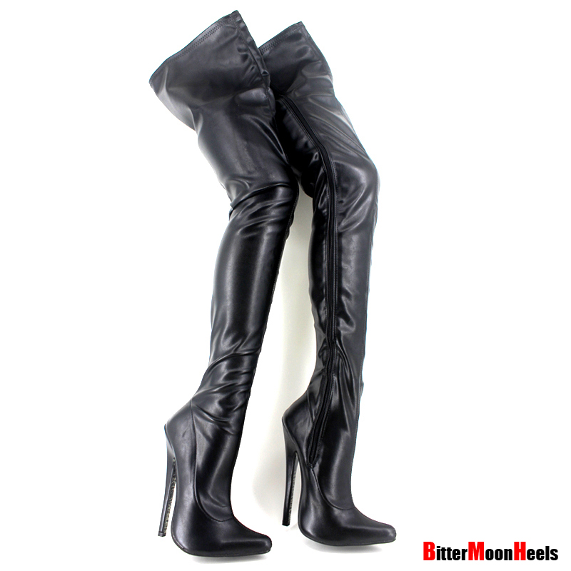 Platform Boot Fetish 105