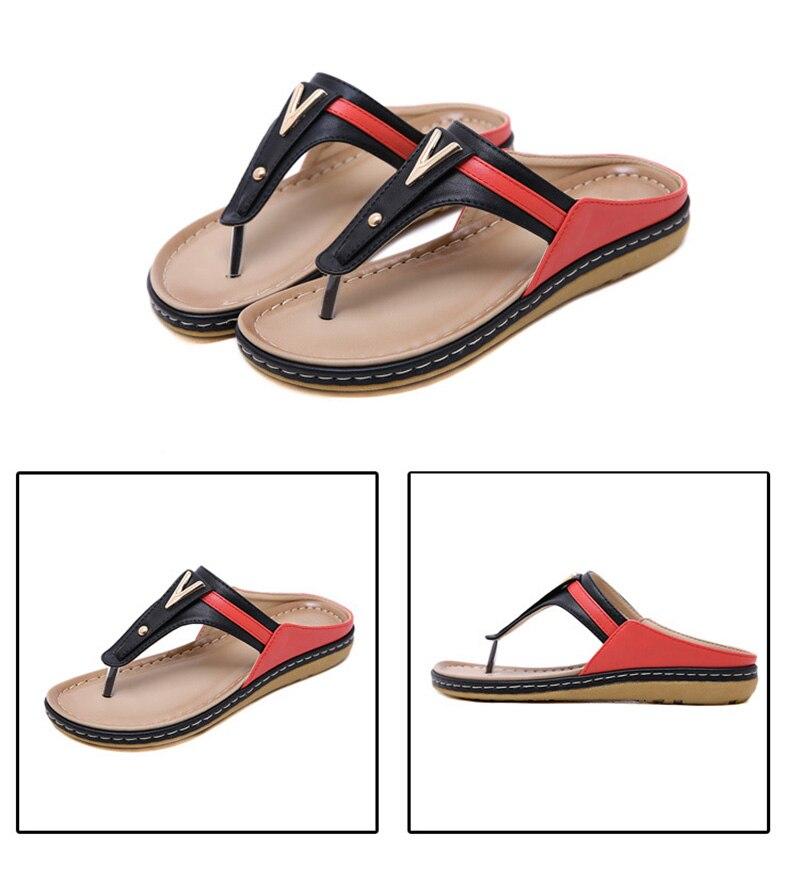 HTB1mM5pbfvsK1RjSspdq6AZepXae 2019 Summer Women Shoes Flip Flops Ladies Beach Sandals Plus Size Women Sandals Flat Women Flip Flops Fashion Luxury Brand A912
