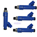 4X Fuel Injector For Toyota Yaris Vitz Probox IST Aqua Porte Allion Axio