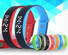 W7 интеллектуальные здоровья спортивный браслет для поддержки Android IOS приложение Smart Watch шагомер LED
