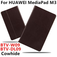 Case Cowhide For Huawei MediaPad M3 Smart Cover Genuine Leather Tablets Protective 8 4 Inch For