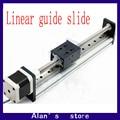CBX1204-100 stepper motor ball screw slide rail linear slide containing 42/57 stepper motor linear guide slider manipulator