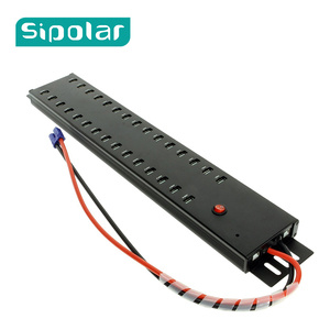 Image 1 - Sipolar 산업용 등급 30 포트 USB 2.0 허브 스마트 폰 태블릿 용 고속 usb por 허브 충전 및 데이터 동기화 a 812