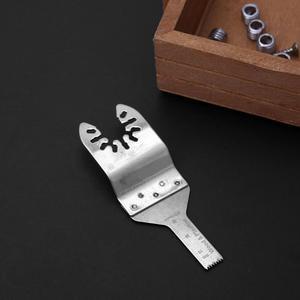 Image 5 - 10cm lâminas de serra de aço inoxidável acessórios ferramenta oscilante apto para renovador multifuncional serra lâmina ferramenta ferramentas de corte madeira