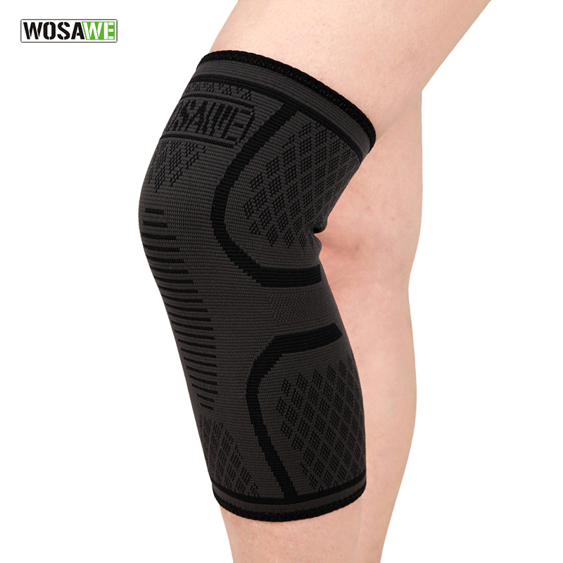 WOSAWE Knee Pads Men Women Kneepads Compression Knee Protector Breathable Knee Safety Running Cycling Fitness Knee Brace Support