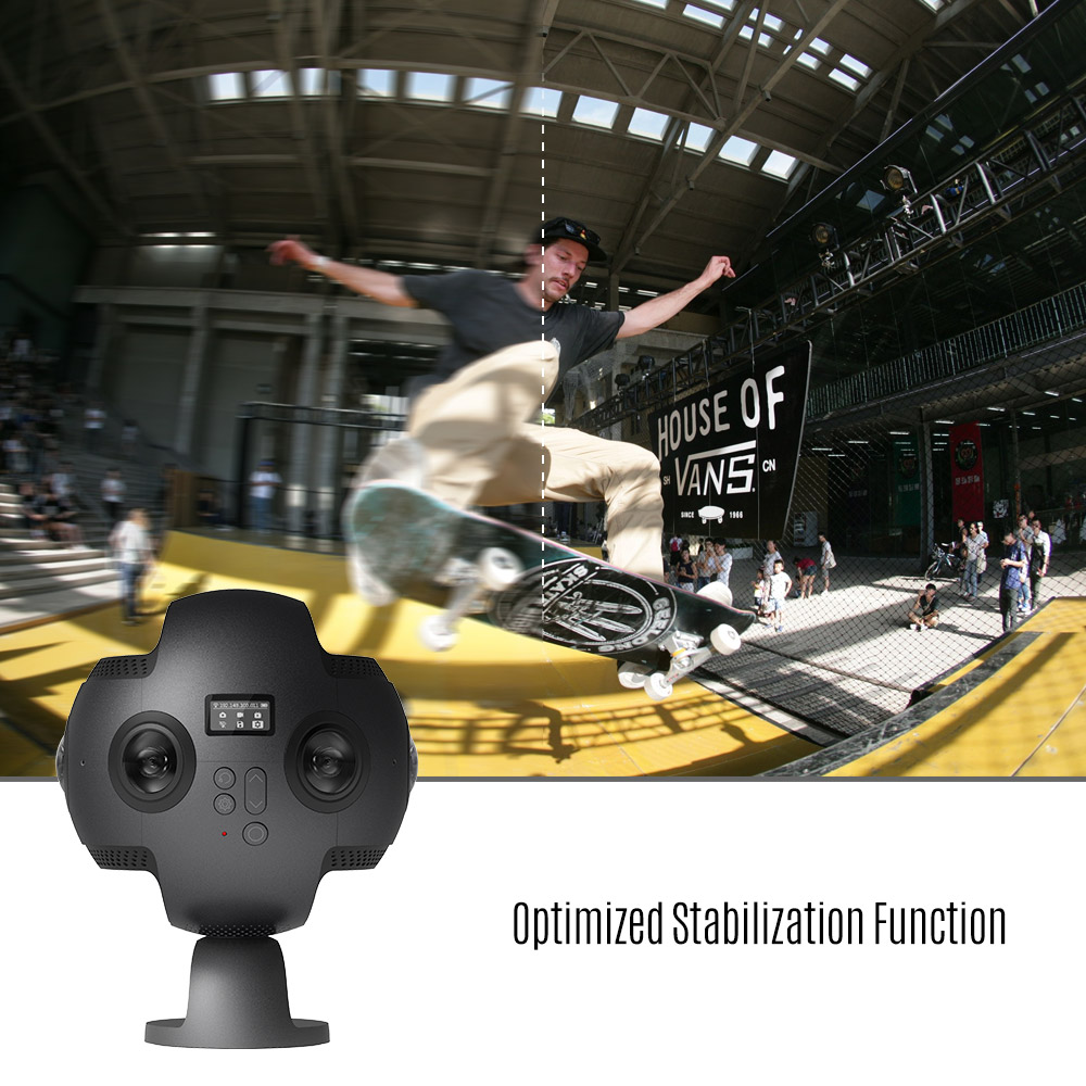 Insta360 Pro 8K 360 VR Video Camera 4K 100fps Slow Motion Anti-shake with Carrying Case Ikeacasa Free Shipping