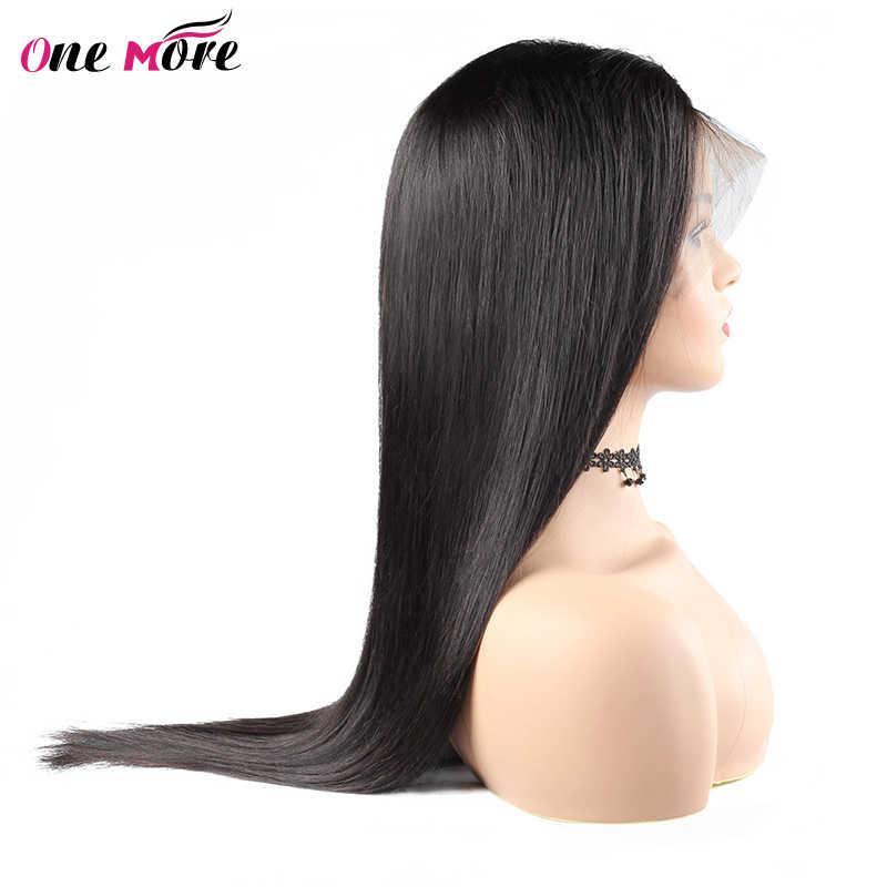 Peluca frontal de encaje recto largo 28 30 32 34 36 38 40 pulgadas pelucas de cabello humano frontal de encaje predesplumado con pelo de bebé peluca brasileña Remy