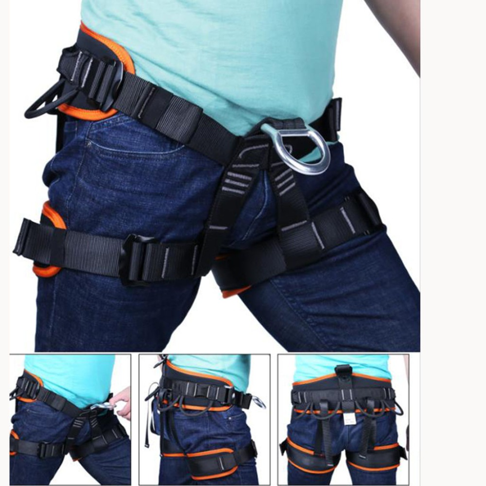 TUPA extérieur Escalade harnais Protection contre les chutes ceinture de sécurité descente en rappel Escalade équipement pour arboriste chirurgien des arbres