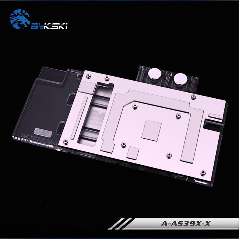 Bykski A-AS39XDC3-X, Full Cover Grafikkarte Wasserkühlblock RGB / - Computerkomponenten - Foto 4