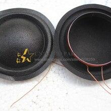1 шт. ID: 49,5 мм 50 мм диафрагмы альт громкоговоритель звуковая катушка подходит для верхней Hivi DMB-A СЧ-динамиков