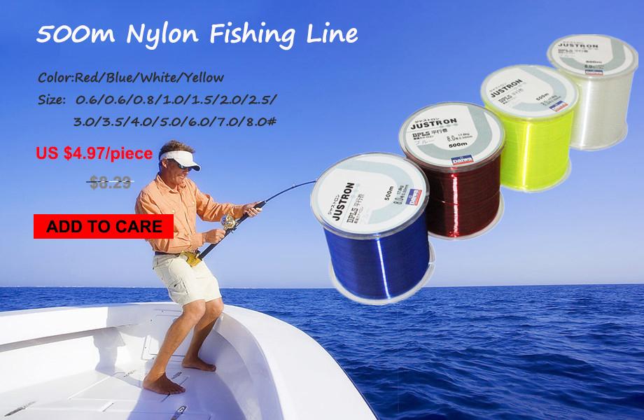 Z60-New-Brand-Daiwa-Series-Super-Strong-Japan-Monofilament-Nylon-Fishing-Line-YX012_