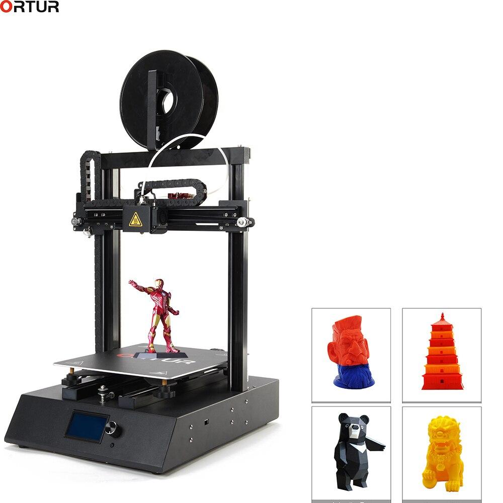 260*310*305 Impressão FDM Desktop 3D Ortur/Impressora de Grande formato 3D/High End Precisão/ venda Direta Da Fábrica de alta Velocidade e Supprt