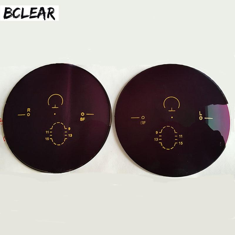 BCLEAR Men and Women Multifocal Progressive Polarized Sunglasses Lenses Brown Grey Green Sun Glasses for Driving