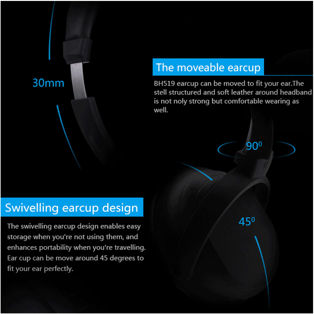 Allcaca noise cancelling adjustable over ear headset foldable allcaca noise cancelling adjustable over ear headset foldable wireless bluetooth headphonesuitable for smartphonepcblack in bluetooth earphones ccuart Choice Image