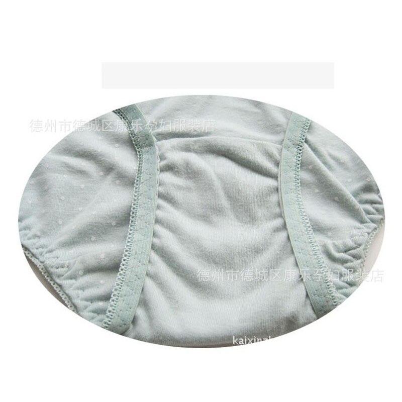 kidadndy New style High Waist Pregnant Belly Care Maternity Panties Brief Pregnancy Underwear 100% Cotton SJ07