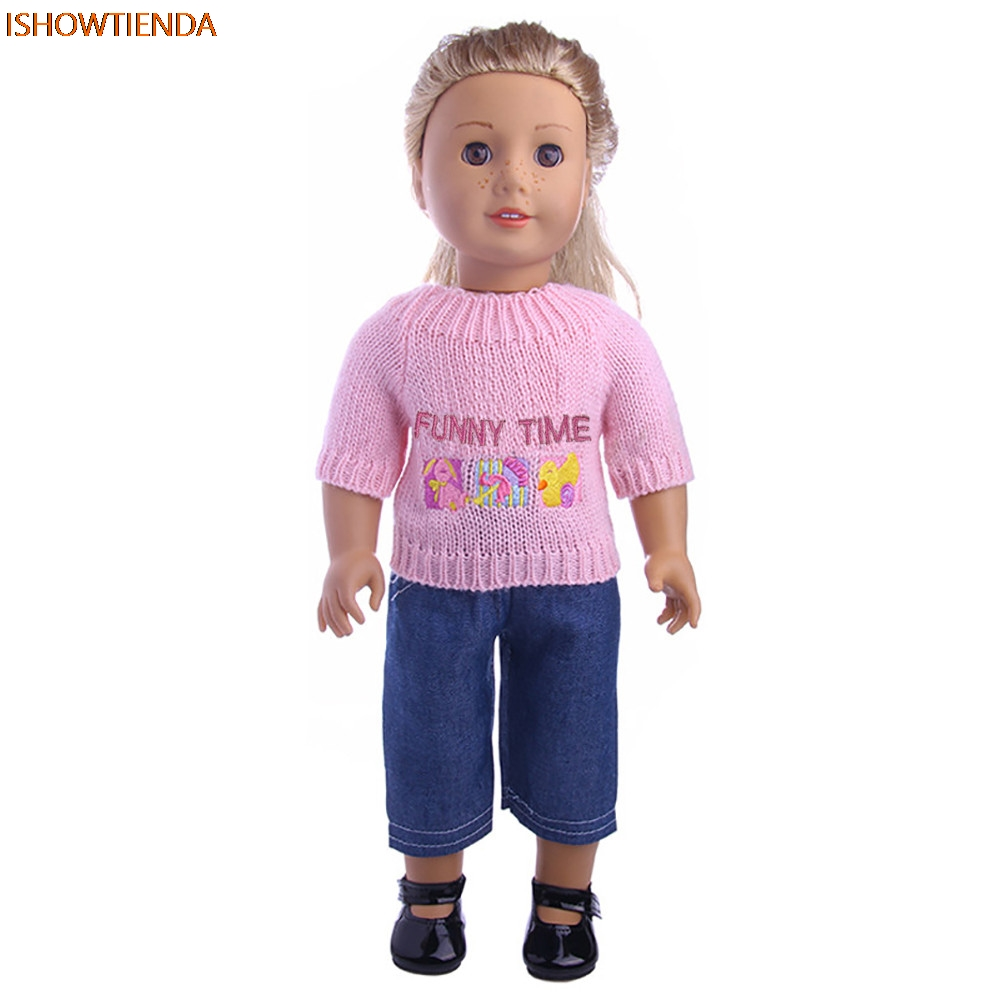 Sweaters Clothes Outfits Pants For 18 inch Our Generation American Girl Doll the United St