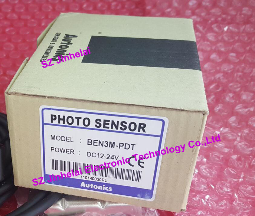 100% Authentic original BEN3M-PDT AUTONICS PHOTOELECTRIC SWITCH DC12-24V bj3m pdt new and original autonics photo sensor photoelectric switch dc12 24v