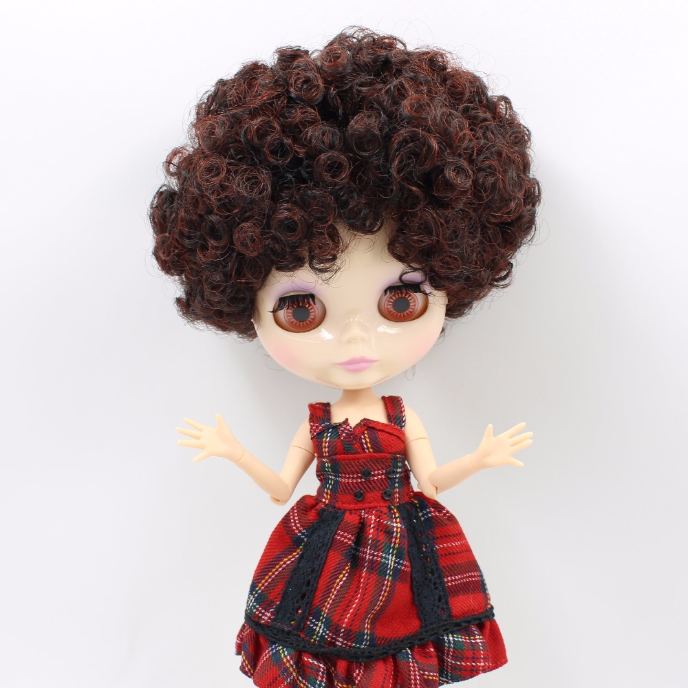 Free shipping factory Blyth Doll BL9103/0362 red mix brown curly hair joint body 1/6 toy gift рюкзак adidas 0362