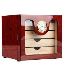 Cigar Humidor Luxury COHIBA cigar cabinets humidors Humidifier for cigar box Small humidor humidifier Best cigar